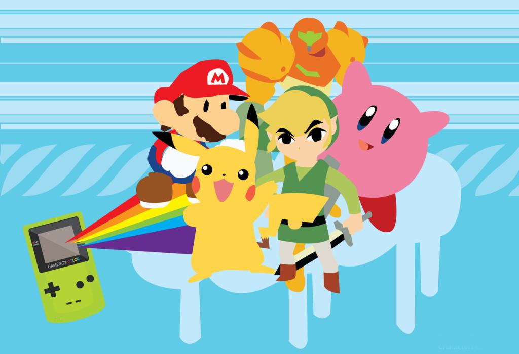 Annunciati i titoli nintendo di aprile per la virtual console - Kirby e il labirinto degli specchi ...