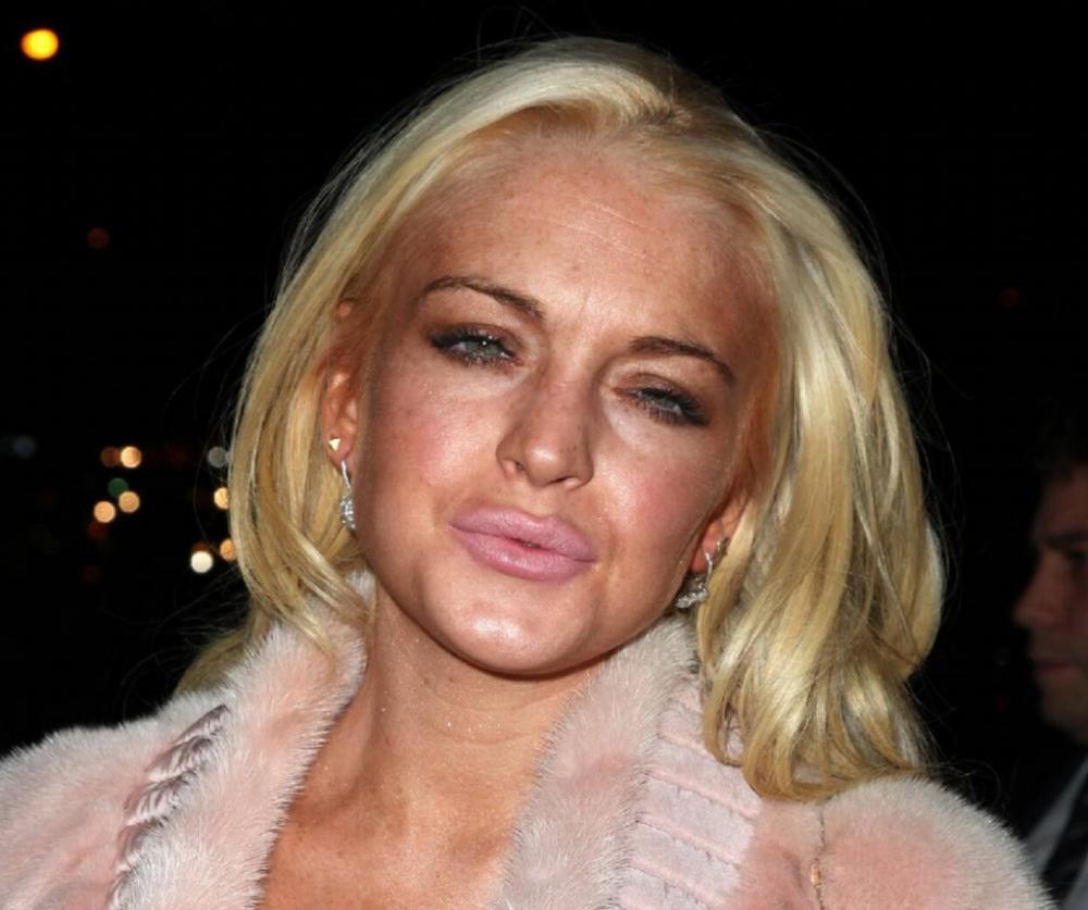Lindsay Lohans Tittenjob
