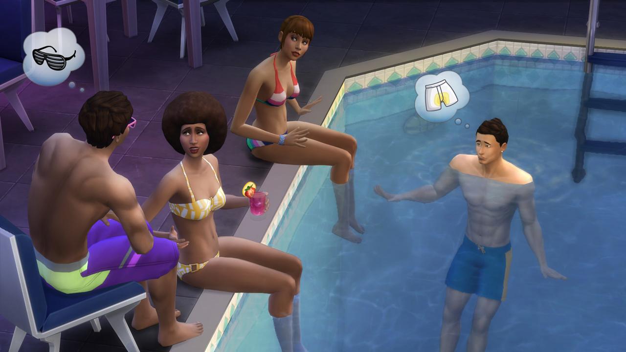 The sims 4 arrivano le piscine for Sims 4 piscine a debordement