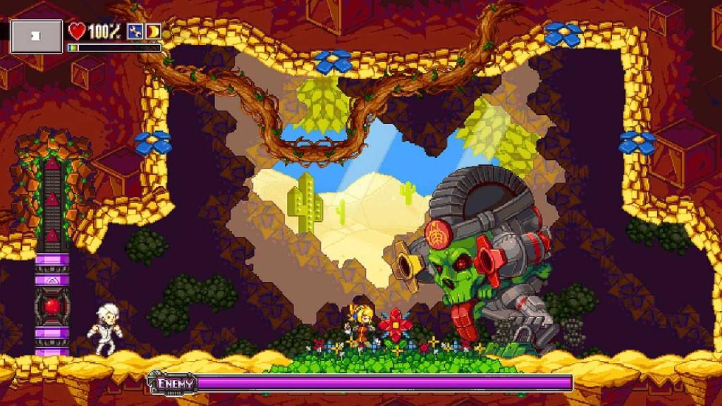 Un trailer di gameplay per Iconoclasts in In diretta
