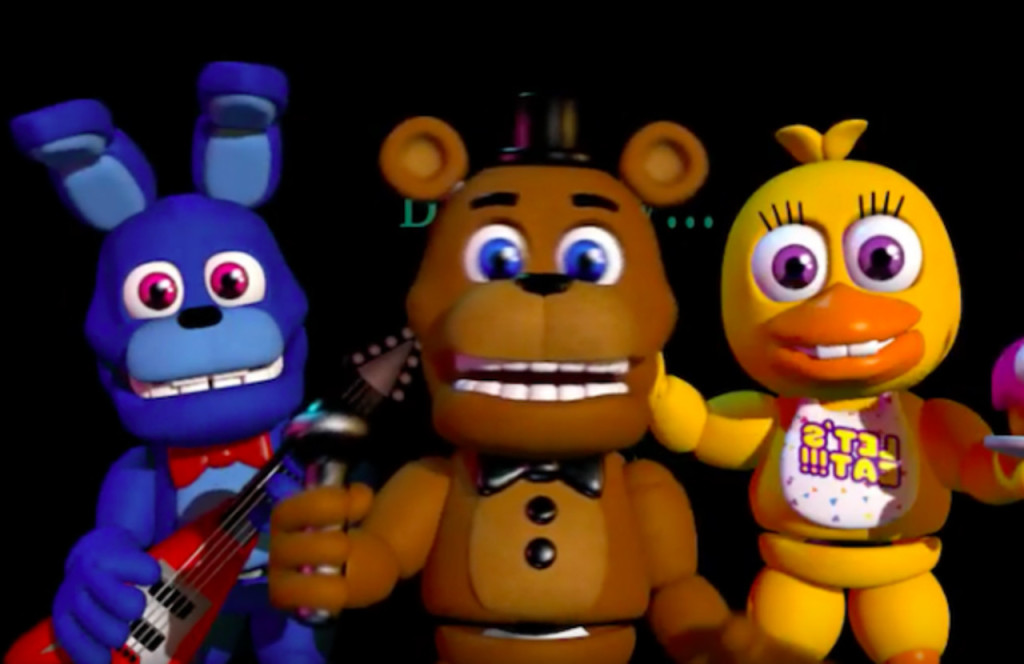 Five nights at freddys world news