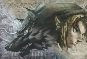The Legend of Zelda: Twilight Princess HD link lupo