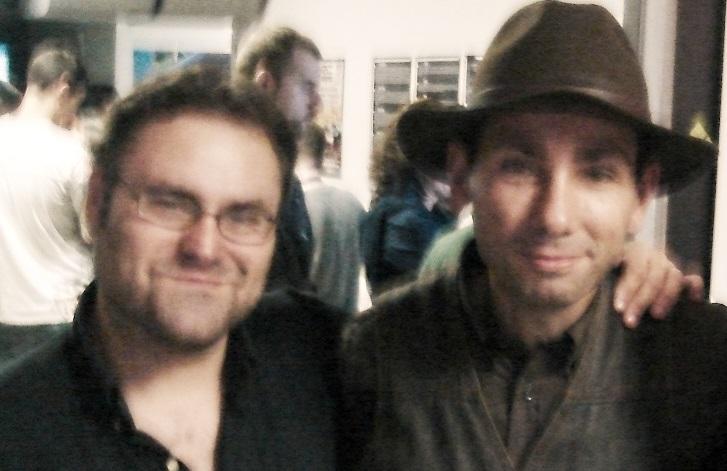 Con Fabio D'Anna