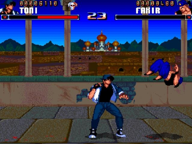 Shadow Fighter - Amiga - ingame - 4_1