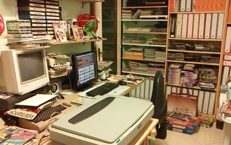 Studio di RetroEdicola - dettaglio scanner