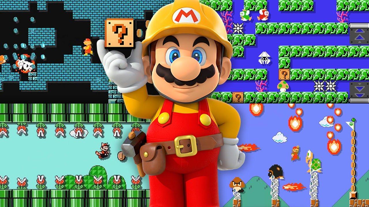 Super Mario Maker Marie e Callie