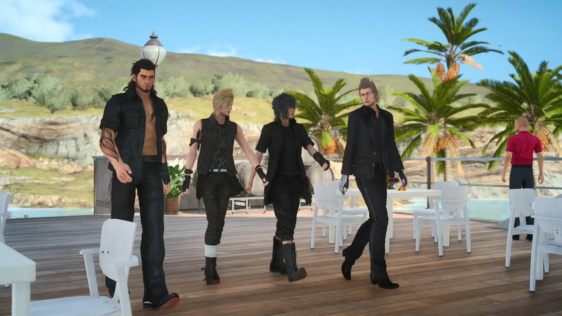 metà Final Fantasy XV
