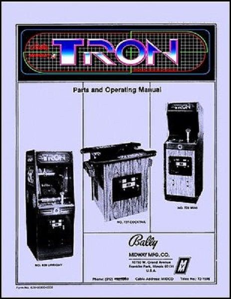 tron-arcade-game-operations-service-repair-manual-coin-op-video-machine-midway-140f5c16ce199abeea707c6802a43327