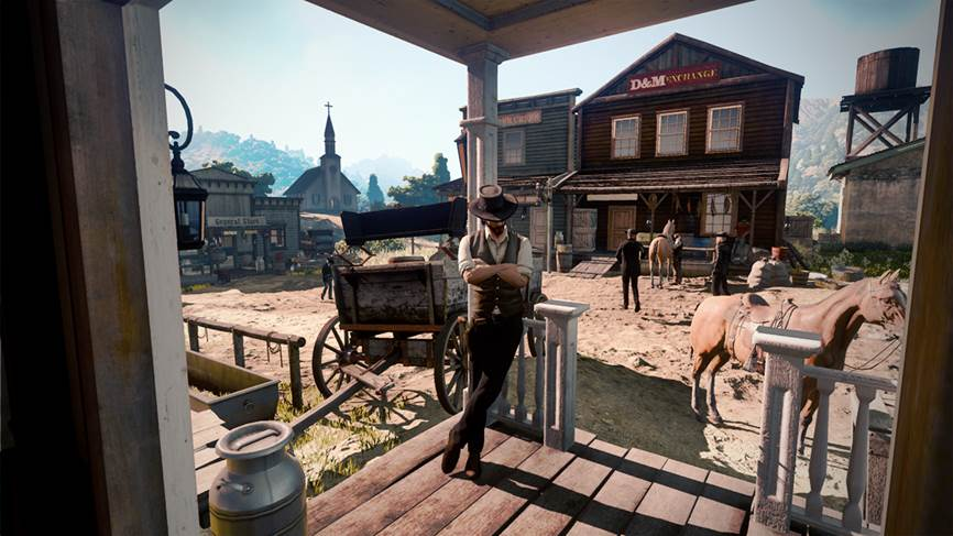 Smentito il leak di Red Dead Redemption 2: era Wild West Online