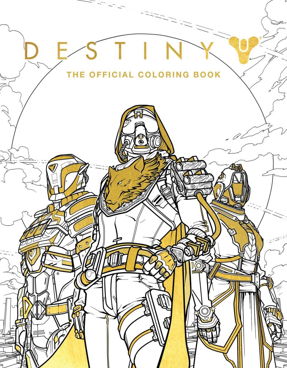 destiny 2 in arrivo il libro ufficiale da colorare