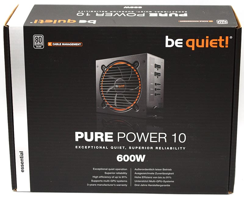 Pure Power 10 600W CM