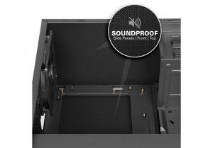 Sharkoon, AI7000, case, soundproof