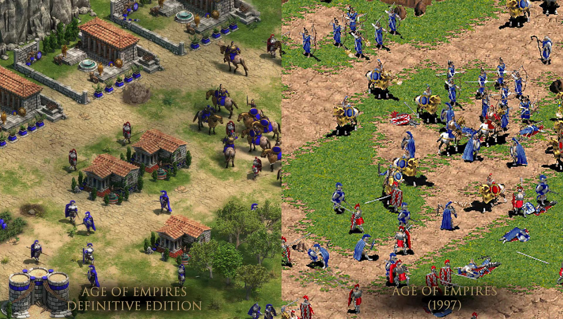 Rinviato Age of Empires: Definitive Edition