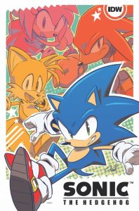Sonic the hedgehog comic Series sonic forces
