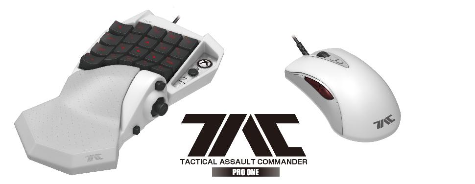 HORI TAC Pro One il primo kit mouse e tastiera per Xbox One