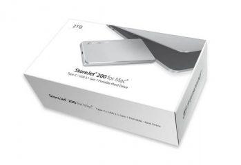 StoreJet 200, Transcend, Hard Drive, Mac, Portable
