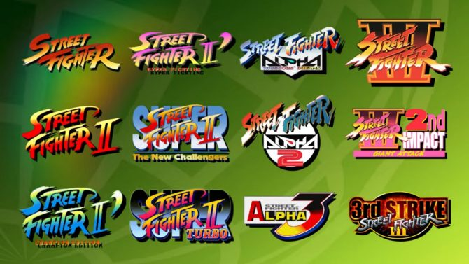 Capcom annuncia la Street Fighter 30th Anniversary Collection