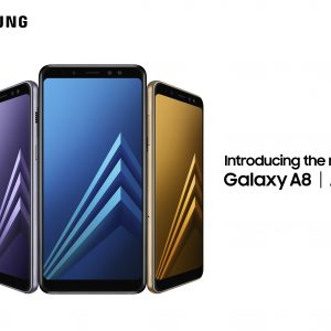 Galaxy A8, Samsung, telefono, Infinity Display, doppia fotocamera