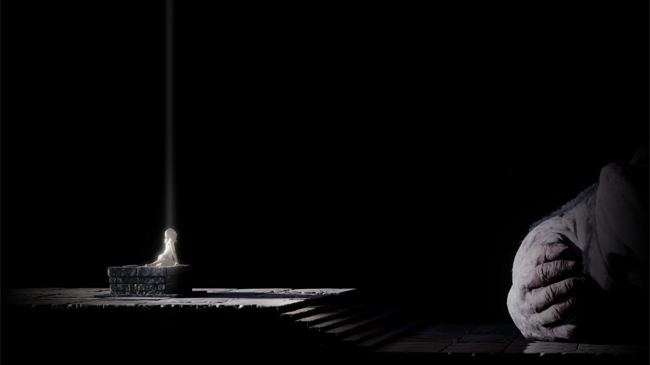 Il creatore di the last guardian mostra la prima immagine for Nuovo design del paesaggio inghilterra