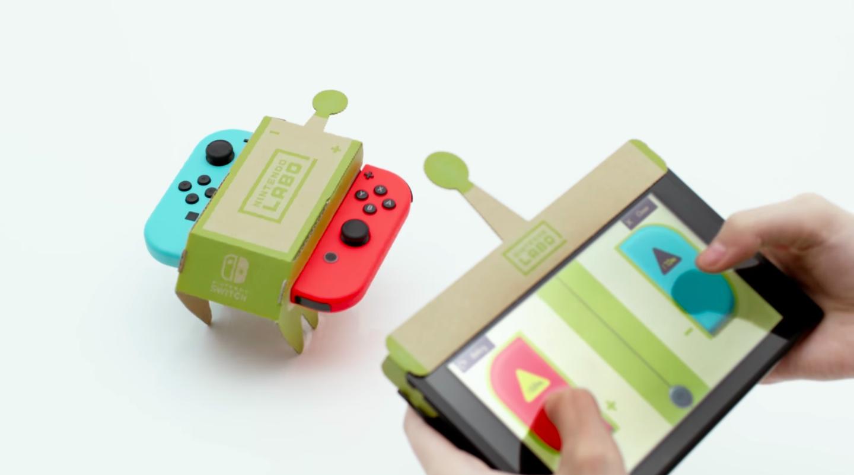 Nintendo Labo fa salire il valore di Nintendo