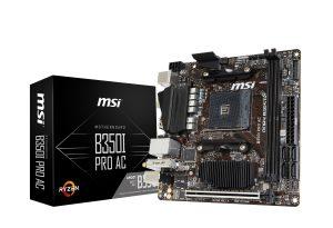 MSI, B350I PRO AC, Ryzen, scheda madre, motherboard, AM4