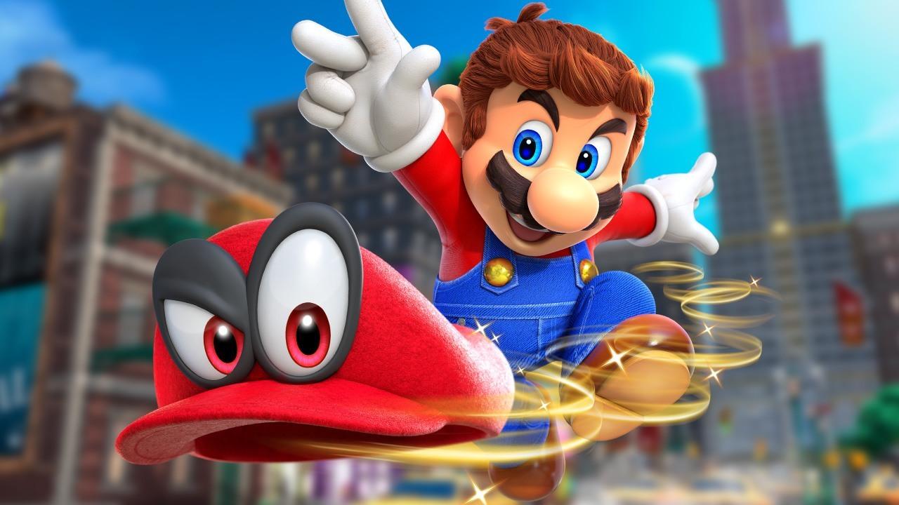 Super Mario Odyssey Game Informer
