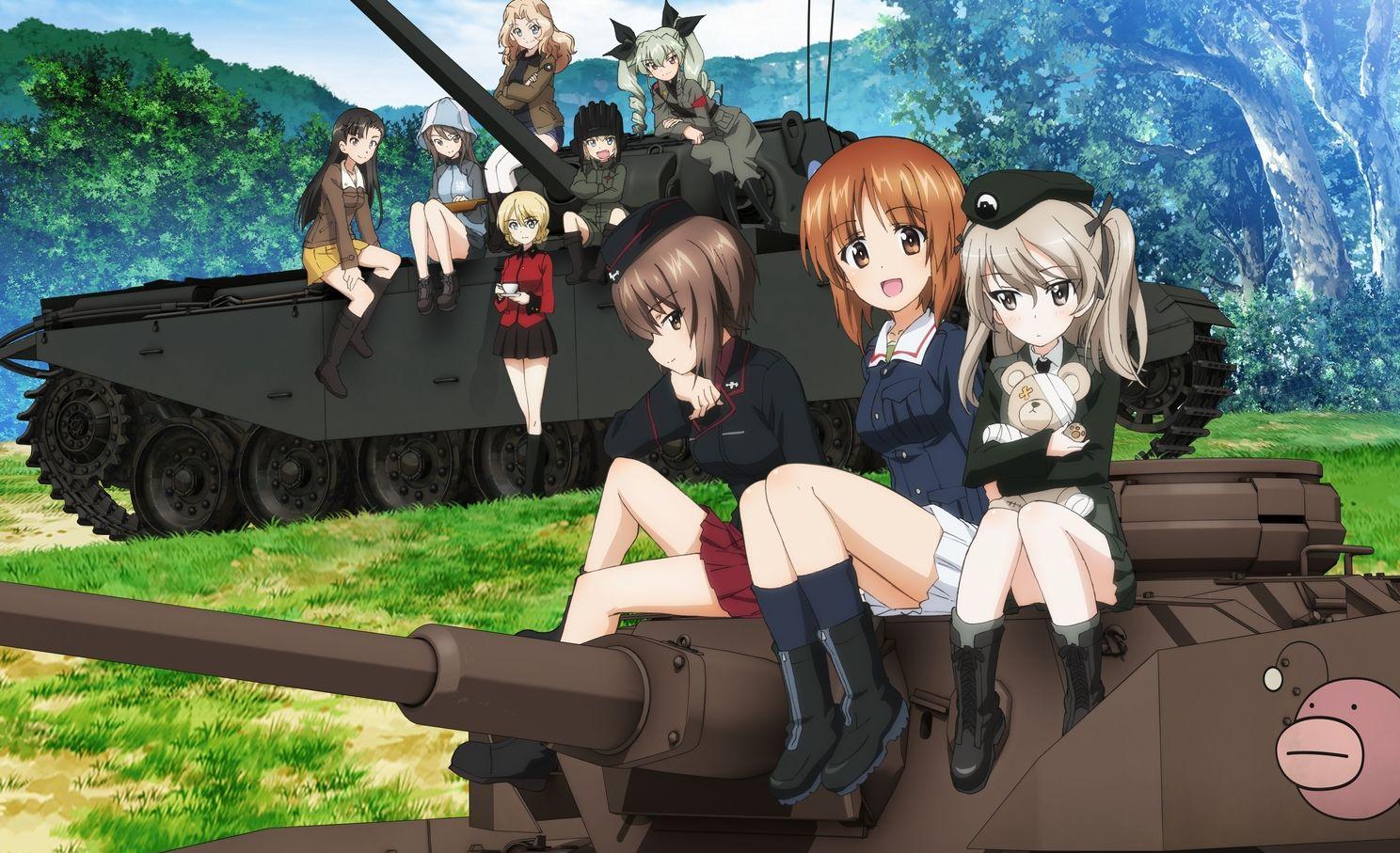 Un nuovo trailer di presentazione per Girls und Panzer: Dream Tank Match
