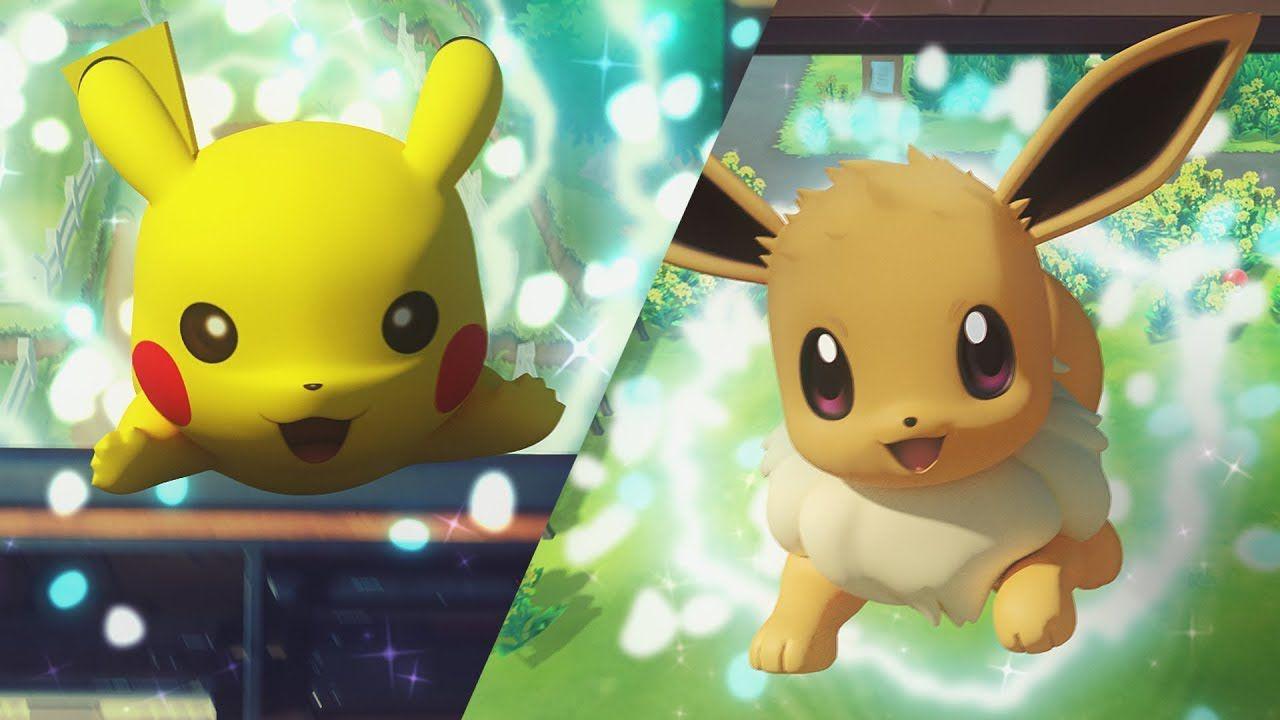 Pokémon: Let's Go, Pikachu! e Let's Go, Eevee! starter non evolvono