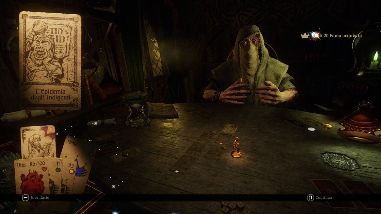 Hand of Fate 2 Mazziere