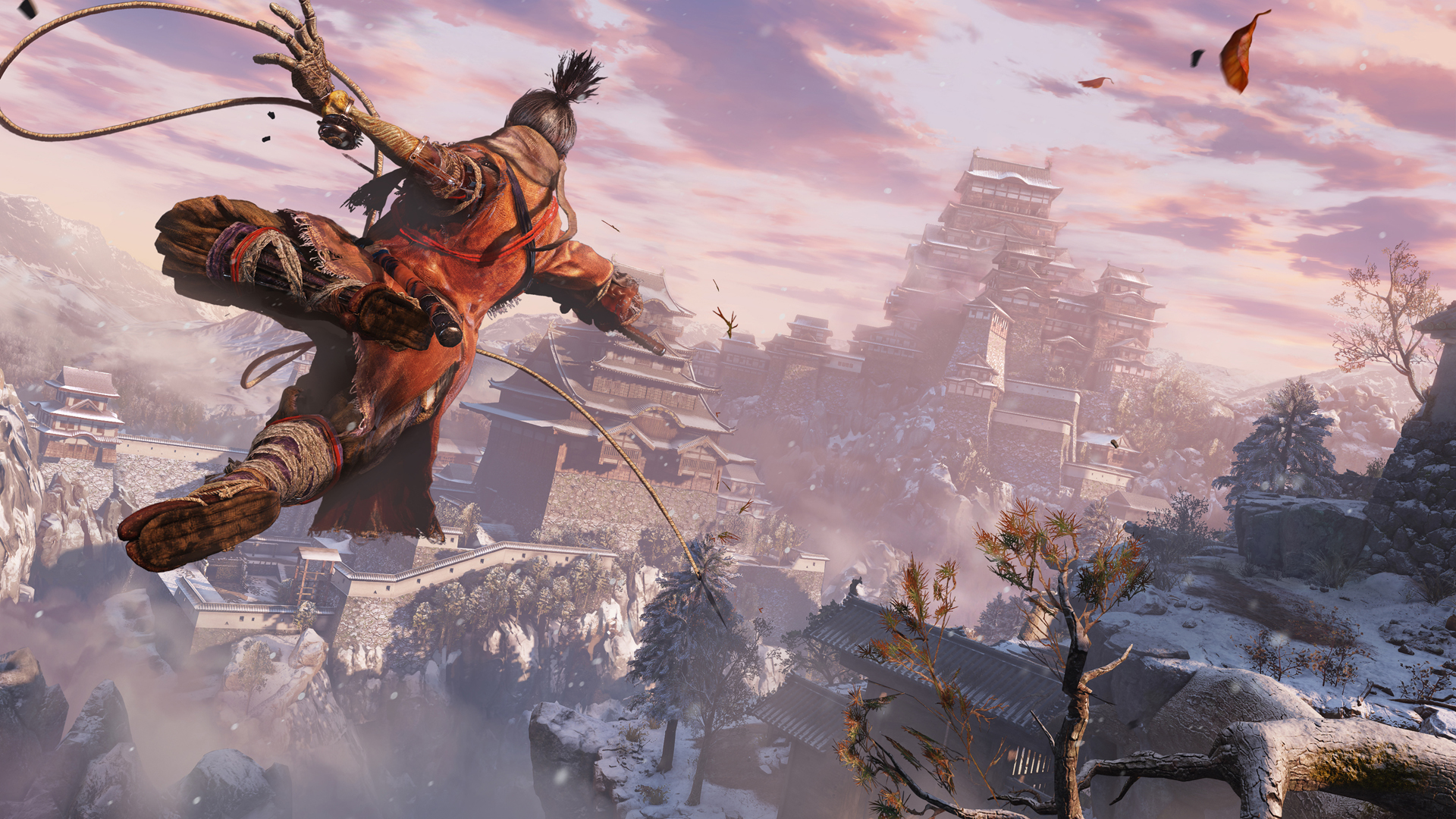 Sekiro: Shadows Die Twice si mostra con una boss fight contro il Monaco Corrotto