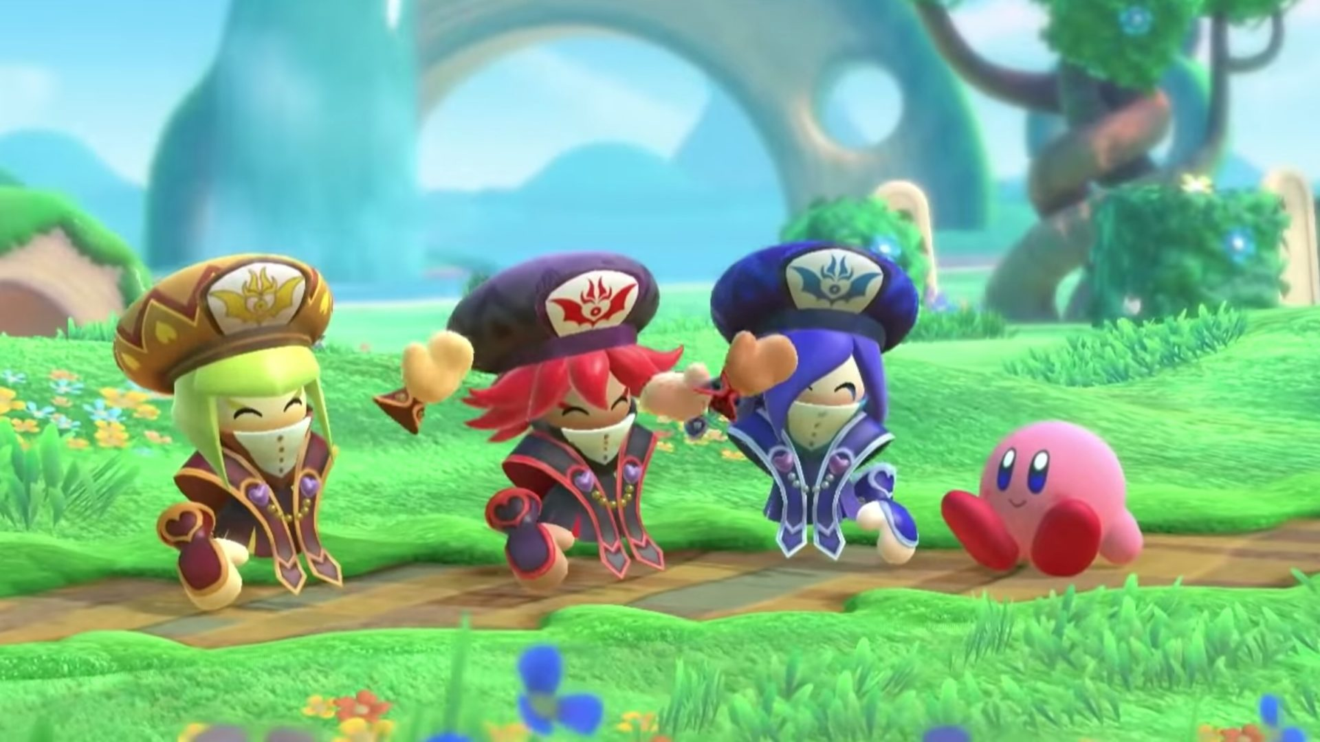 Kirby Star Allies Three Mage Sisters