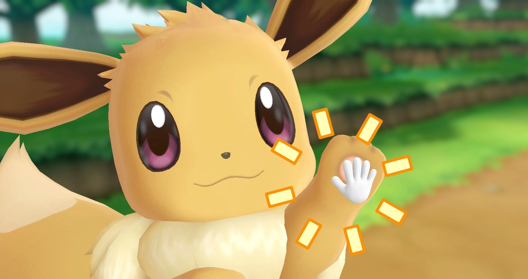 Eevee Nintendo Switch Pokémon Let's Go