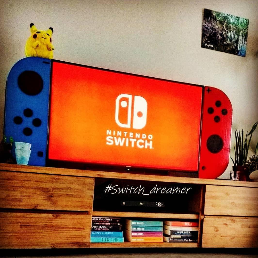 Giant-TV-Switch