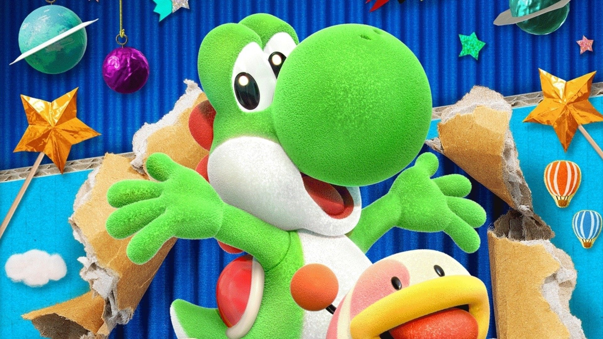 Yoshi's Crafted World Nintendo