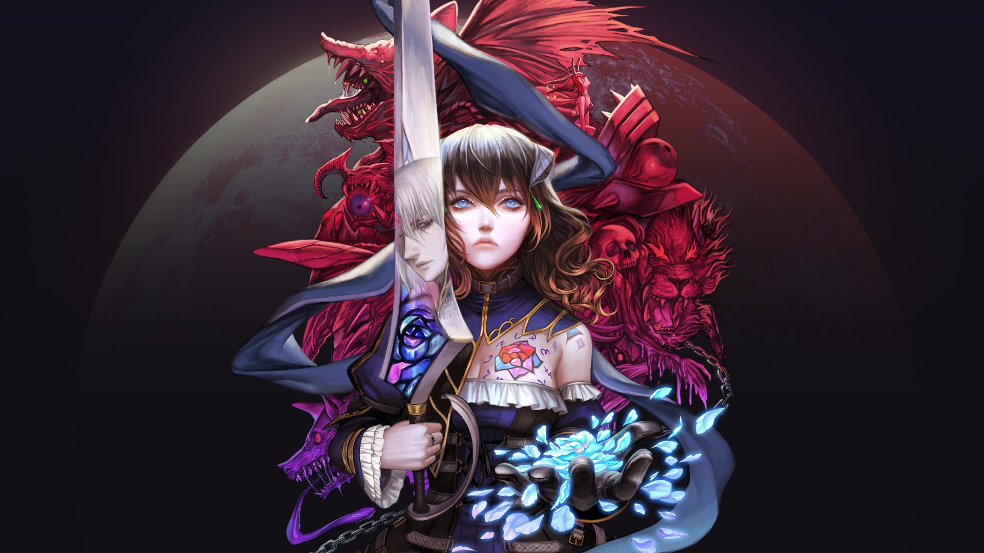 Bloodstained Ritual of the Night Cover