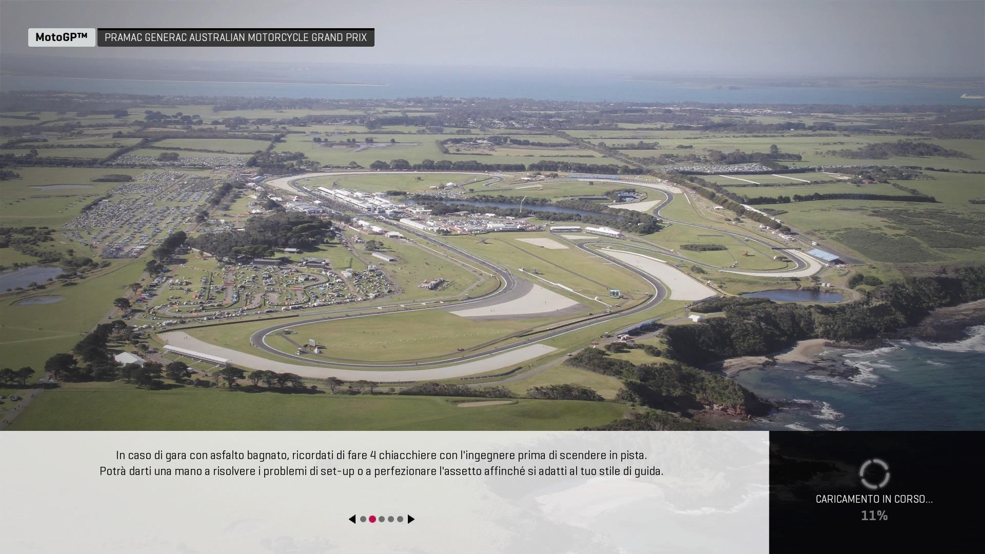 MotoGP 19 panoramica circuito