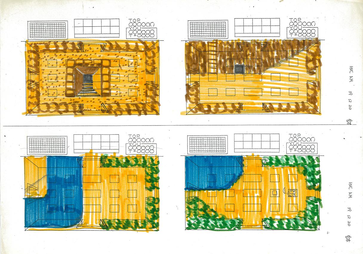 Bozzetti di Zelda realizzati da Shigeru Miyamoto