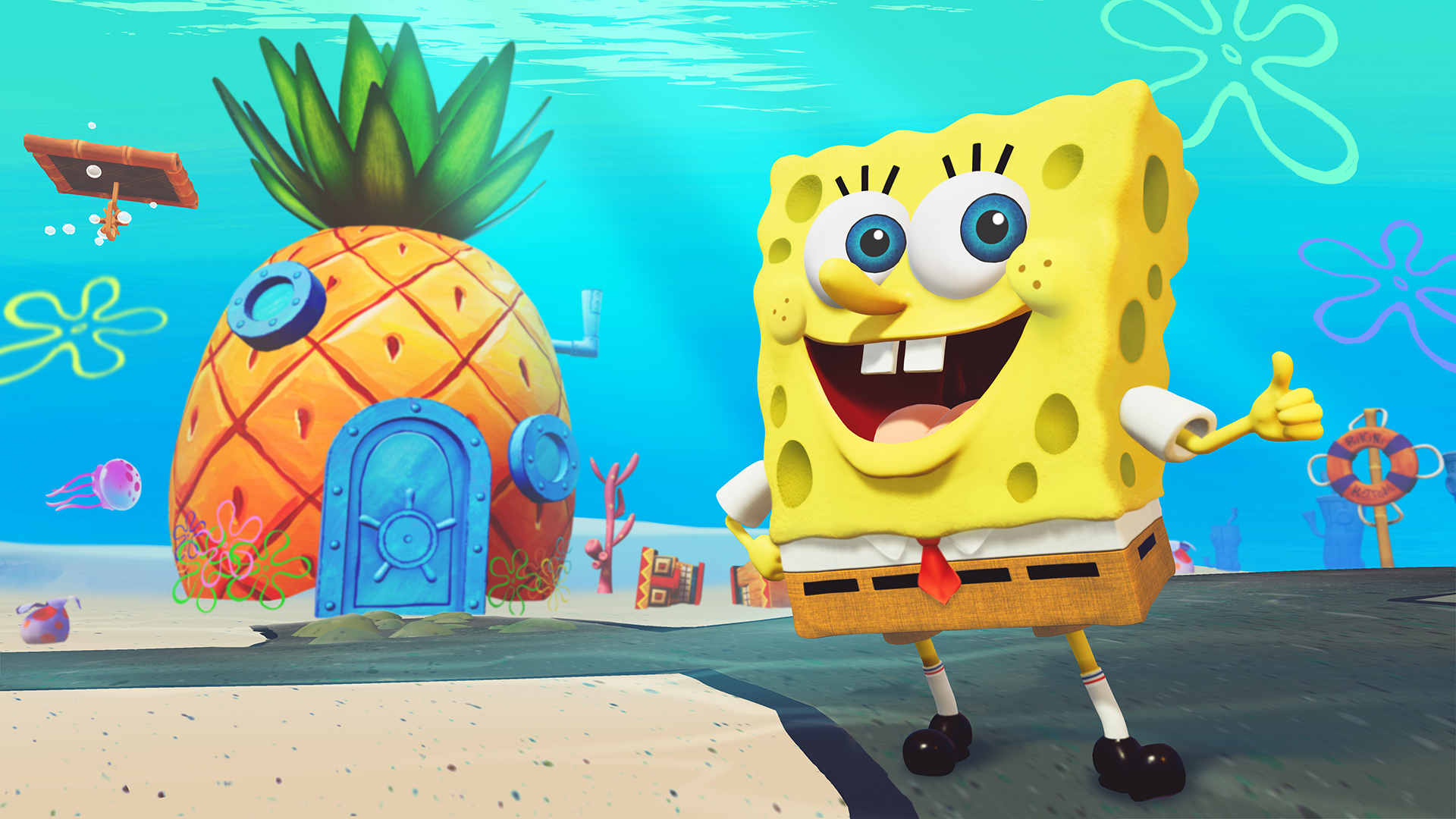 SpongeBob SquarePants Battle For Bikini Bottom Rehydrated THQ Nordic gamescom 2019