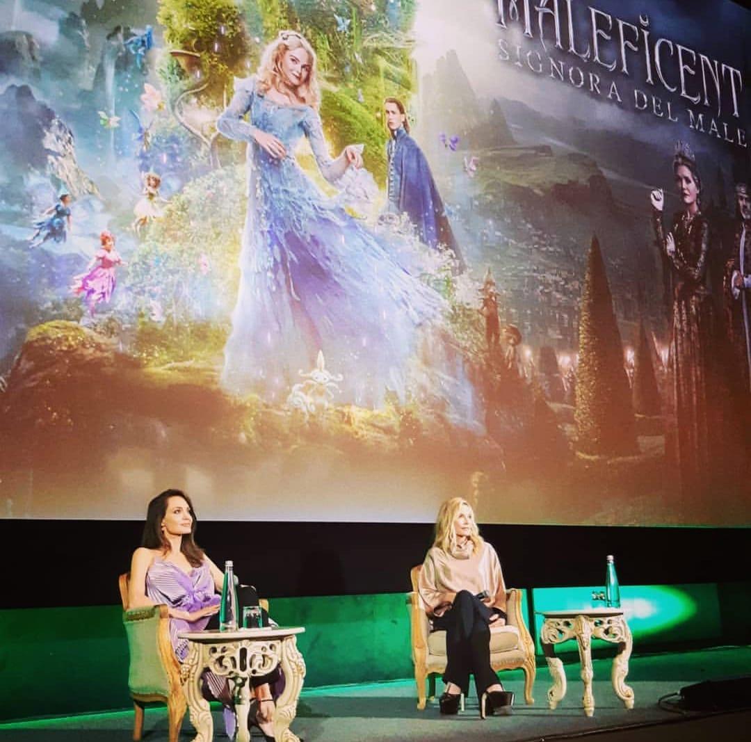 Angelina Jolie Michelle Pfeiffer Maleficent 2