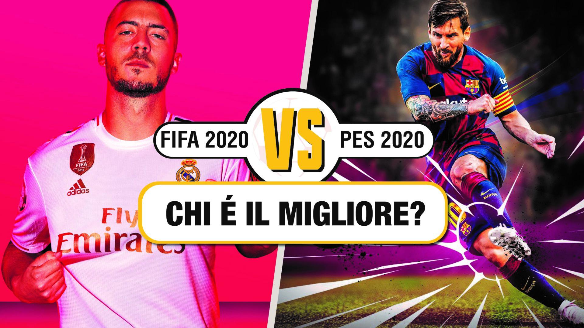 PES 2020 VS FIFA 20