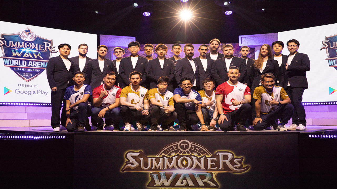 Summoners War World Arena Championship 2019