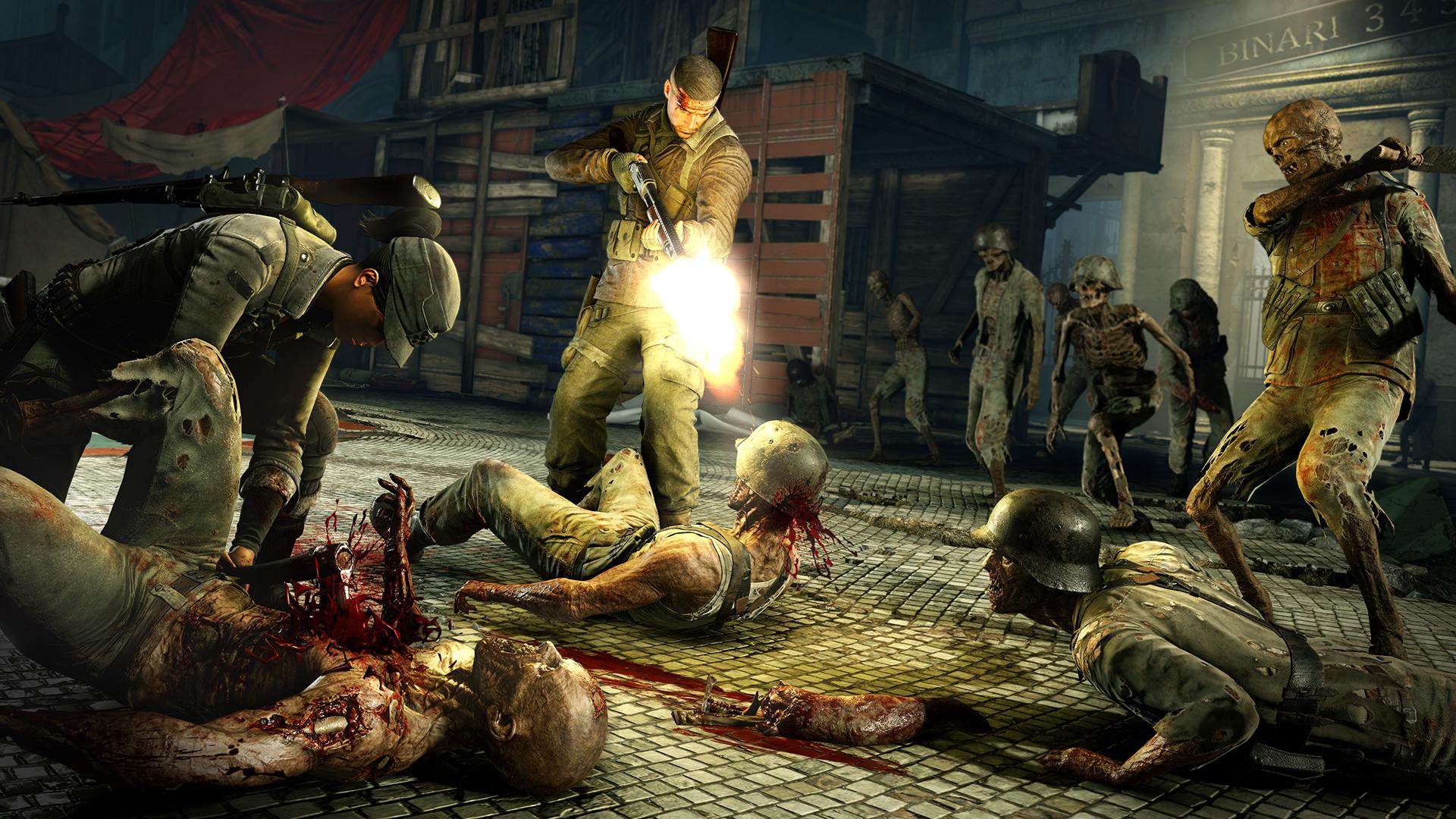 Zombie Army 4 Dead War massacro