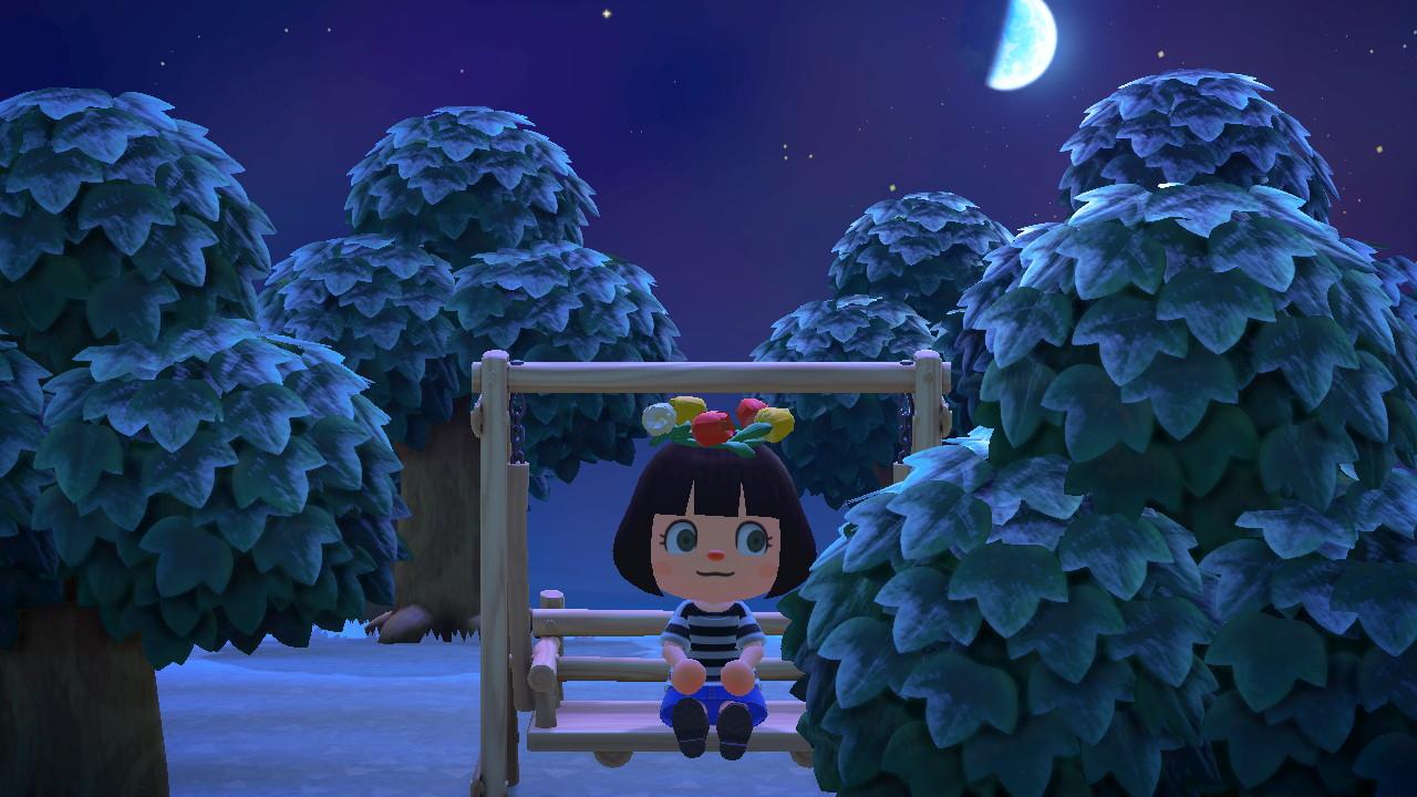 Animal Crossings: New Horizons dondolo