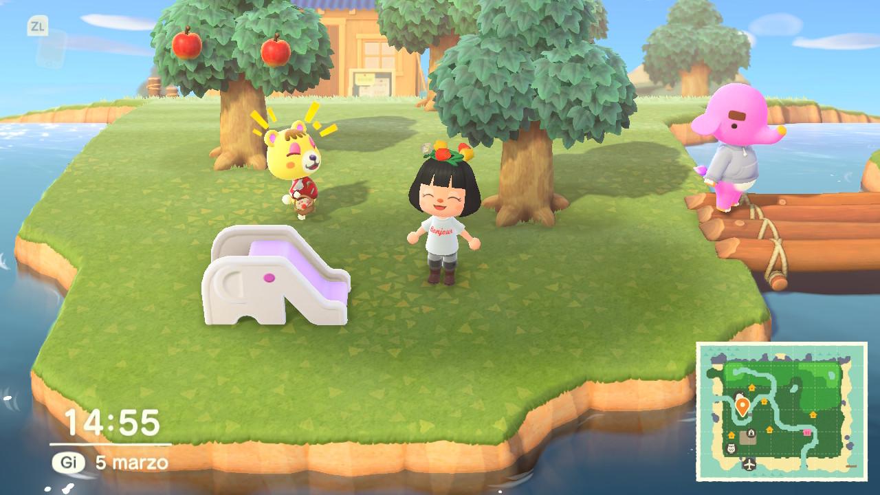 Animal Crossings: New Horizons risate