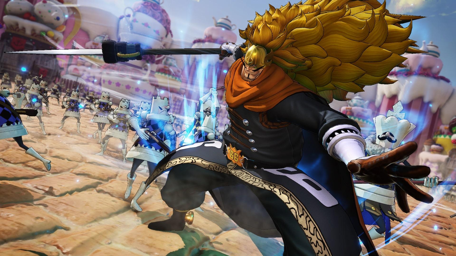 Vin smoke Judge - One Piece Pirate Warriors 4