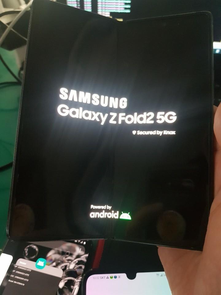 Galaxy Z Fold2 5G nuove immagini in rete