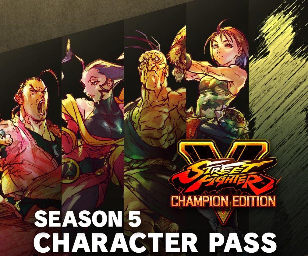 street fighter v season 5 pass